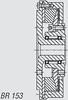 Kuesel Universal Joint Shaft Coupling -- BR 153