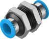 Push-in bulkhead connector -- QSS-12-20 -Image
