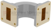 WR-112 Waveguide E-Bend Commercial Grade Using UG-51/U Flange With a 7.05 GHz to 10 GHz Frequency Range -- SMF112EB -Image