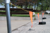 Kee Mark -- Free-Standing Warning Lines - Image