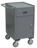 Mobile Workbench Cabinet,24 In. L,Gray -- JX218-U5
