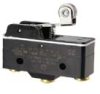 MICRO SWITCH BZ Series Premium Large Basic Switch, Single Pole Double Throw Circuitry, 15 A at 250 Vac, Roller Lever Actuator, 1.67 N [6 oz] Maximum Operating Force, Silver Contacts, Screw Termination -- BZ-2RW8225551-A2 -Image