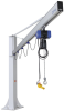Complete jib crane for incl. chain hoist and plug fixation CSKS-SCH-250-4000-SRA140-2600-EL -- 14.05.01.00377 -Image