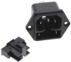 Power Entry Connectors - Inlets, Outlets, Modules -- 486-3978-ND -Image