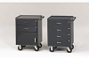 VALLEY CRAFT Vari-Tuff Tool-Toting Mini Cabinet w.4 Drawers -- 5238127