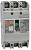 MCCB 90A 3 POLE 600V 125AMP FRAME FUJI BW125 SERIES UL489 -- BW125JAGU-3P090SB