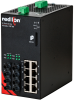NT24k®-12FXE4 Managed Gigabit Ethernet Switch, ST 80km -- NT24k-12FXE4-ST-80 -Image