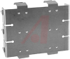 Battery Holder; C; 0.875 in. to 1.125 in.; Aluminum; Nickel Plated; PC Mount; 6 -- 70182737