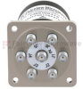 SP6T NO DC to 18 GHz Electro-Mechanical Relay Switch, TTL, up to 90W, 24V, SMA -- FMSW6375 -Image
