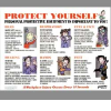 PRINZING Personal Protective Equipment Poster -- 1124300