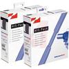 3/8IN BLUE POLYOLEFIN 2:1 HEAT SHRINK TUBING; 16.4 FEET PER BOX -- 70163085