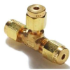 Parker A-Lok 1ET1-B Brass Compression Tube Fitting, Tee,… -- 1ET1-B