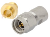 3.5mm Male Connector Clamp/Solder Attachment For RG402, RG402 Tinned, .141 SR Cable -- FMCN1424 -Image