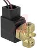 Process Solenoid Valve, 2 port, direct operated, 1/8 port, NC, 110VAC, conduit -- 70071629