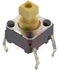 Switch,Flux tight Mechanical Keyswitch,,50MA@24VDC,No Ground Term.,Proj.Plung -- 70176109 - Image