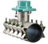 SS Tap Slv Full Gasket Carbon Stl MJ Outlet -- Model 469