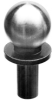 Press Fit Shoulder Tooling Ball: 0.50 Ball Dia. x 0.2503 Shank Dia. x .50 Length from Shoulder Base to Ball Center -- 10904