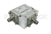 Circulator with 17 dB Isolation from 1.7 GHz to 2.4 GHz, 10 Watts and SMA Female -- PE83CR004 - Image