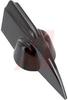 Knob; Phenolic; 1/4 in. (Shaft); 15/32 in.; 8-32 -- 70097831
