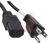 POWER SUPPLY AC CORD, 30 WATT, 3 WIRE,NORTH AMERICA; ROHS COMPLIANT -- 70124088