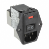 Power Entry Connectors - Inlets, Outlets, Modules -- CCM2215-ND -Image