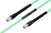Temperature Conditioned SMA Male to SMA Male Low Loss Cable 100 cm Length Using PE-P142LL Coax -- PE3M0125-100CM -Image