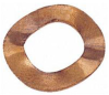 Crinkle Washer - Beryllium Copper -- Crinkle Washer - Beryllium Copper