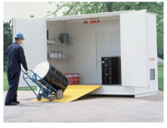 how to select hazardous material storage