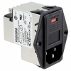 Power Entry Connectors - Inlets, Outlets, Modules -- 3-6609930-8-ND -Image
