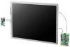 "15"" XGA 1,200cd/m2 Ultra High Brightness Industrial Display Kit with LED B/L, LVDS Interface -- IDK-2115 -Image"
