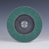 3M 577F Type 27 Coated Alumina Zirconia Flap Disc - 36 Grit - 4 1/2 in Diameter - Giant - 30967 -- 051141-30967 - Image
