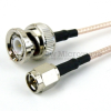 SMA Male to BNC Male Cable RG-316 Coax in 48 Inch -- FMC0208315-48 -- View Larger Image