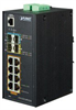 Industrial 8-Port 10/100/1000T 802.3at PoE + 2-Port 100/1000X SFP + 2-Port 10G SFP+ Managed Switch