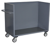 Low 3 Sided Solid Box Truck -- Model BZ