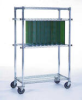 Cleanroom Shelving -- Wire Shelving - Vertical PC Board -- View Larger Image