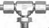 37 Flared SAE Fitting - JPMBT-U Positionable Male Branch Tee - Image