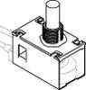 Panel-mount plunger -- D1022