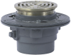 Floor Drain with Round Heavy Duty Strainer -- FD-100-B -- View Larger Image