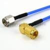 SMA Male to RA SMA Male Cable FM-F086 Coax in 36 Inch -- FMC0204085-36 -Image