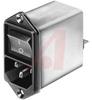 Module, Power Entry; 125/250 VAC, 50/60Hz; 10 A; 2; DC12 PEM Type -- 70080149