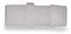 Barbed Fittings, NPT Male Pipe Adapter, Kynar, 1/8