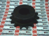 ROLLER CHAIN SPROCKET 15T 7/8IN BORE 1/2IN PITCH -- 40BS1578 - Image