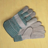 Leather Safety Cuff Gloves -- 162 -- View Larger Image