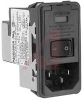 CHAMELEON Power Entry Module; Snap-In; DPST; Single Fuse; 6AMP Filter -- 70185815 - Image