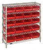 Bins & Systems - 4'' Shelf Bins (QSB Series) - Complete Bin Center - WR6-36-1236-107 - Image