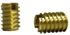 B1T Unified Thread Brass Insert - Metric -- B1T-8125-15.0