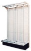 Bins & Systems - Clear Tip Out Bins (QTB Series) - Gondola Slider Systems - G-725