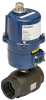 Electrically Actuated 2 PC Carbon Steel Ball Valve -- E2C Series