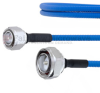 Low PIM 4.3-10 Male to 7/16 DIN Male Plenum Cable SPP-250-LLPL Coax in 100 CM and RoHS -- FMCA1310-100CM -- View Larger Image