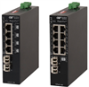 Unmanaged Ruggedized Ethernet Power Sourcing Equipment (PSE) PoE/PoE+ switch -- RuggedNet™ GPoE+/Si